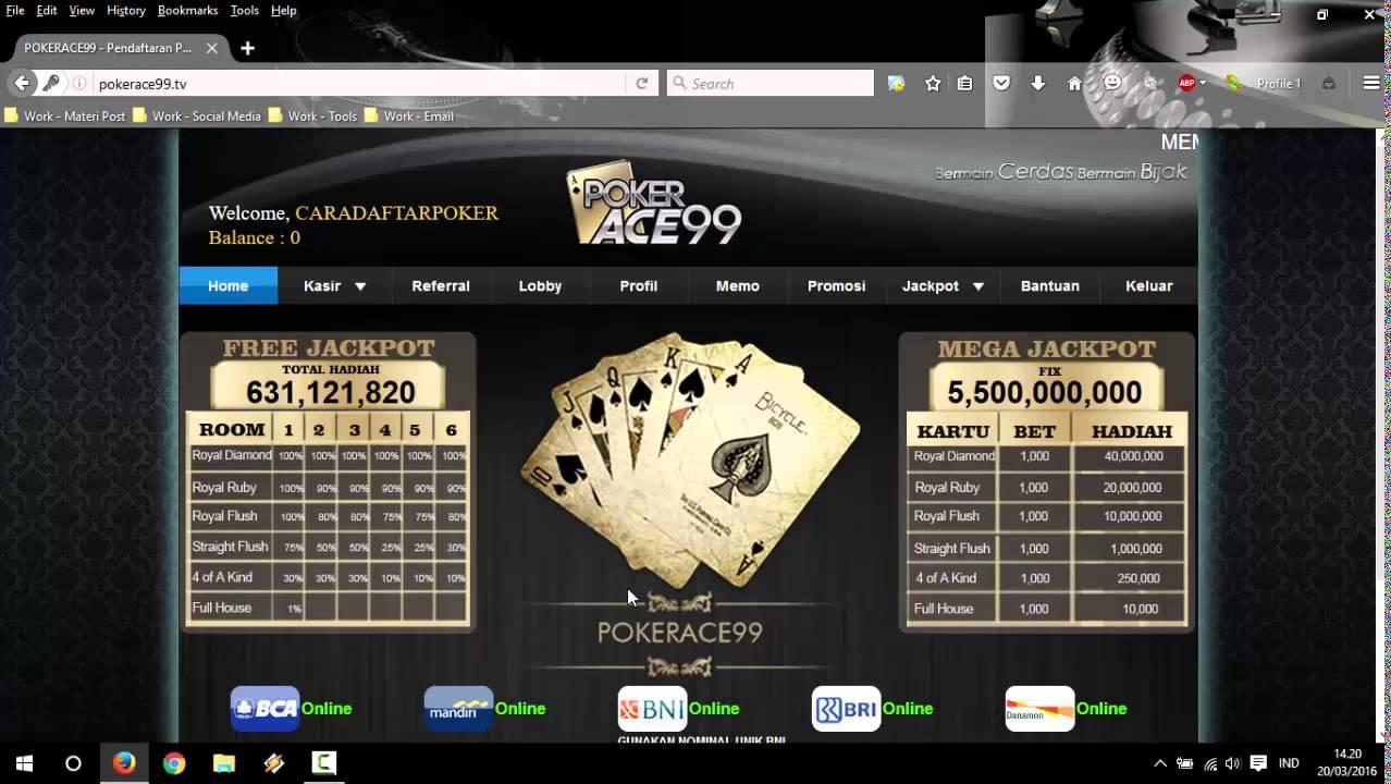 Mudah - Aturan Deposit dari Pokerace99